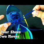 Como apertar os cordões das sapatilhas/sapatos rapidamente