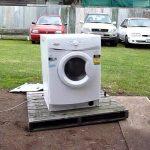 Como destruir uma máquina de lavar roupa