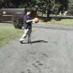 Como fazer explodir uma bola de basquetebol