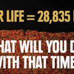 Como gastamos o tempos das nossas vidas