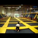 Compilação com falhanços/fails em trampolins