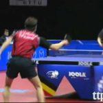 Compilação com os melhores momentos de ténis de mesa/ping pong de 2011