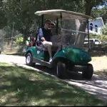 Compilação de falhanços em carrinhos de golf