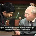 Conversa entre Vitor Gaspar e Wolfgang Schäuble – Estado de Graça – RTP1