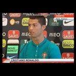 Cristiano Ronaldo recusa responder a jornalista da CMTV