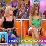 Cristina Areia descuida-se e mostra as cuecas em direto na TVI