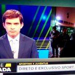 Emplastro é agredido em direto na Sport TV