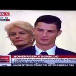 Filho de Cristiano Ronaldo reage de forma engraçada à música