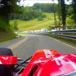 Fórmula 1 em terreno inclinado