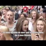 Ganda Malucos – Oh mãe a Irina já foi com os pitos – Cristiano Ronaldo