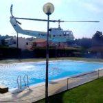 Helicóptero dos bombeiros vai buscar água a uma piscina – Braga