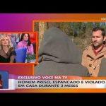 Homem abusado pelo companheiro dá entrevista épica ao jornalista da TVI