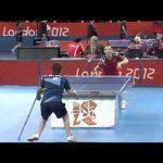 Incrível jogada de Ping Pong – Jogos Paraolímpicos – Londres 2012