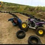 Jornalista tem acidente de moto 4