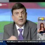 José Manuel Coelho arma a barraca no debate televisivo para as Eleições 2011