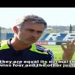 José Mourinho, quem é o melhor do mundo – Cristiano Ronaldo ou Lionel Messi – Em entrevista à bola.tv