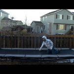 Mais um fail de trampolim