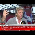 Mais uma gaffe de Jorge Jesus em direto na TVI24