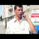 Manuel Almeida, candidato do PTP à Câmara de Vila Nova de Gaia, liga para o tribunal