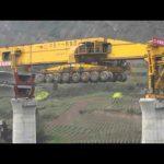 Máquina de construir pontes impressionanente