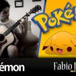 Música de abertura do Pokémon em guitarra acústica