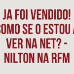 Nilton – O carro já foi vendido – Café da Manhã – RFM