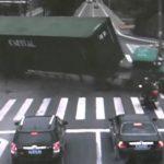 O condutor de scooter com mais sorte do mundo