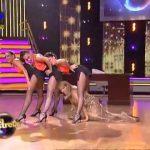 O espalhanço de Alexandra Lencastre – Dança com as estrelas – TVI