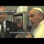 Papa Francisco fala sobre os atentados de Paris – Charlie Hebdo