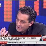 Paulo Futre aprendeu a fazer amor no FC Porto – TVI24