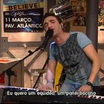Pedro Fernandes – Carne de Cavalo – David Antunes & The Midnight Band – 5 Para a Meia Noite – RTP1