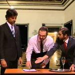 Pedro Fernandes – Tomada de posse no Palácio de Belém – 5 Para a Meia Noite – RTP1