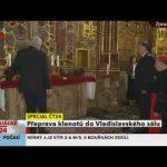 Presidente da República Checa bêbado durante cerimónia