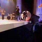 Queda dos Squeeze Theeze Pleeze em directo na TVI