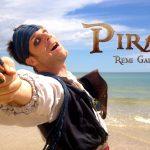 Rémi Gaillard faz-se passar pelo Capitão Jack Sparrow – Pirata das Caraíbas