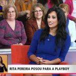 """Rita Pereira posou """"nua"""" para a Playboy Portugal – Você na TV – TVI"""