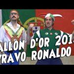 Ro et Cut – Ballon d'Or 2013, vravo Cristiano Ronaldo!