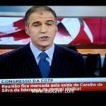 Rodrigo Guedes de Carvalho anuncia a saida do CARALHO da Silva – Jornal da Noite – SIC