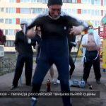 Russos a dançar como malucos