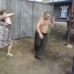 Russos a dançar que nem loucos