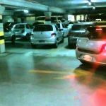 Sensor de estacionamento de um pobre