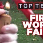 Só fails com fogo de artifício – Não tentem fazer isto em casa
