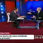Sócrates insulta José Rodrigues dos Santos em Directo – RTP1
