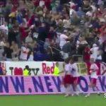 Thierry Henry marca golo de canto directo