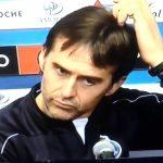 Treinador do FC Porto – Lopetegui: Como respiro agora? Pelo nariz