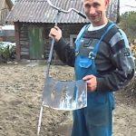 Uma sachola inovadora inventada na Rússia