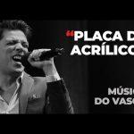 Vasco Palmeirim – Placa de acrílico – Música dia dos Namorados 2021 – Rádio Comercial